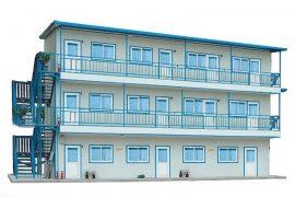 Nhà lắp ghép 3 tầng giá rẻ