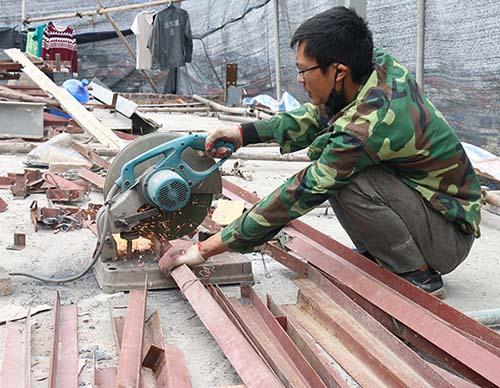 Nhà khung thép dễ bảo trì, dễ sửa chữa